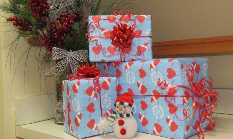 Vente de papiers d'emballage de Noël