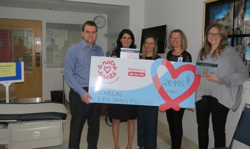 La Fondation Les Amis d'Elliot permet la réalisation de deux projets essentiels à l'hôpital HDA