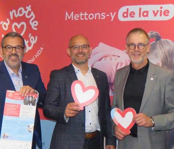 Un appui majeur de Desjardins pour stimuler la campagne automnale  de la Fondation À Notre Santé