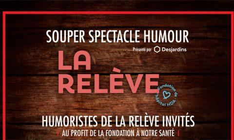 Souper spectacle humour – La Relève