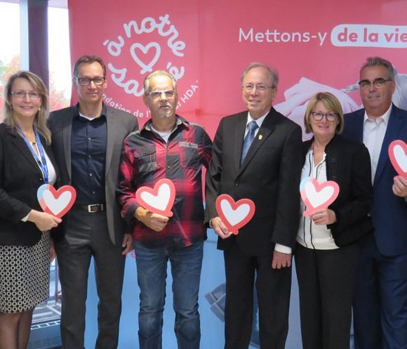 Cliniques de soins ambulatoires à l'Hôtel-Dieu d'Arthabaska – Le don par testament de Mme Fernande Verville;  un levier pour la réalisation de ce projet.