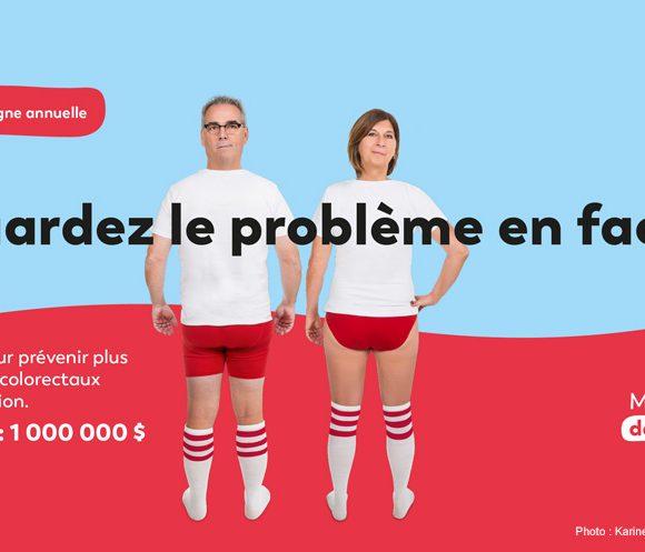 « Regardez le problème en face! », la thématique 2019 de la Fondation À Notre Santé pour la prévention du cancer colorectal