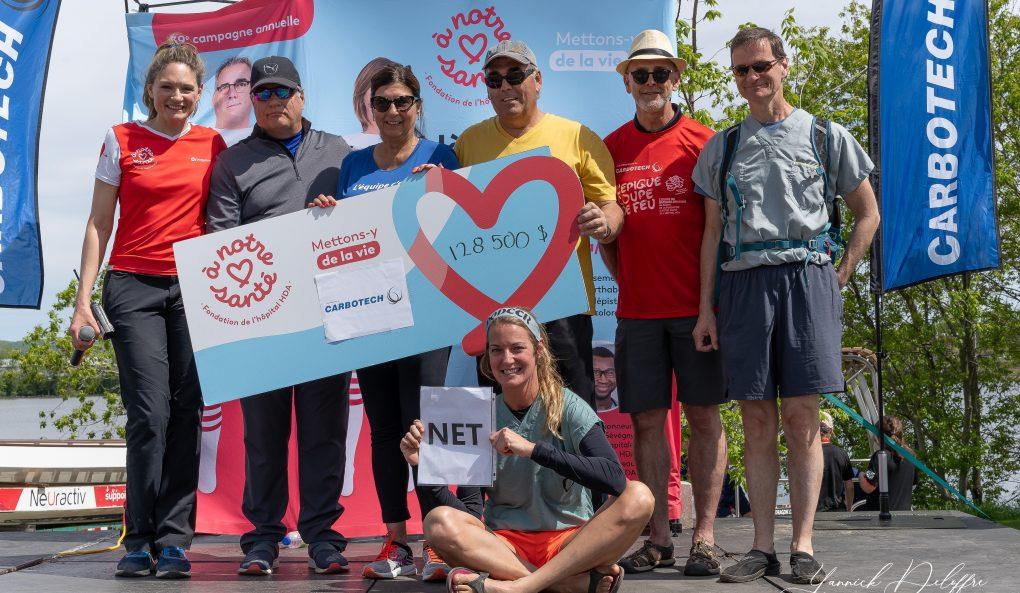 L'ÉPIQUE COUPE DE FEU – La Fondation À Notre Santé bat encore un record pour la 5e édition