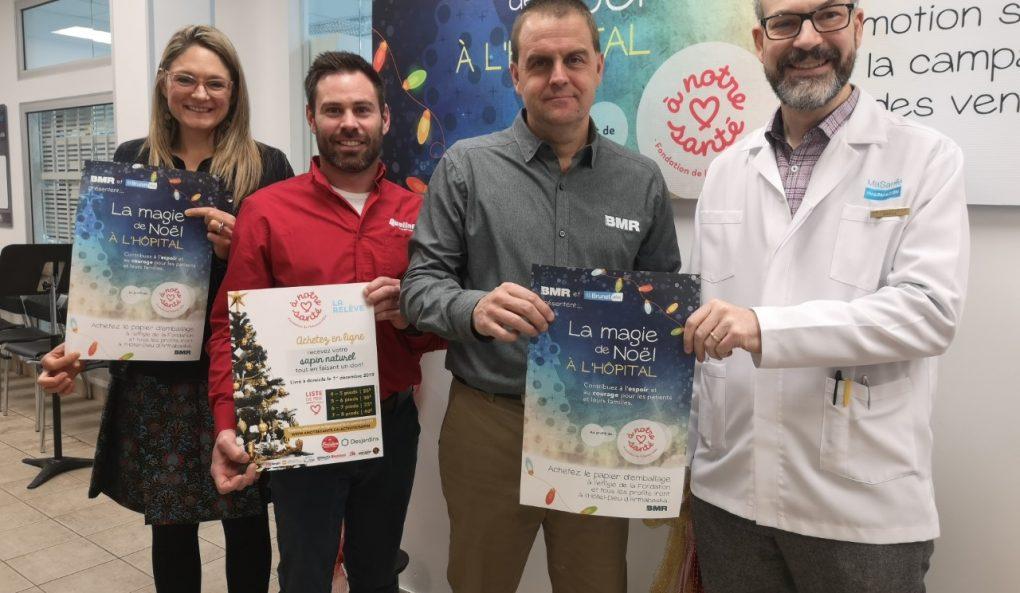 VIVACO groupe coopératif et Brunet présentent la 9e édition de La magie de Noël à l'hôpital