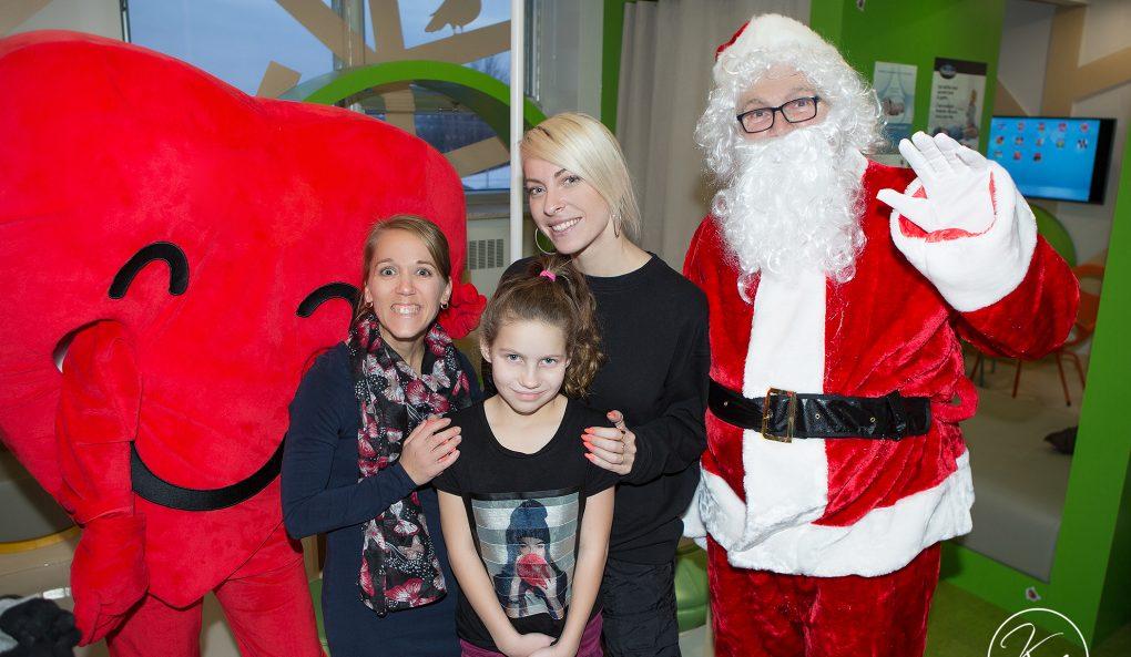 De la grande visite à l'hôpital HDA pour la Magie de Noël