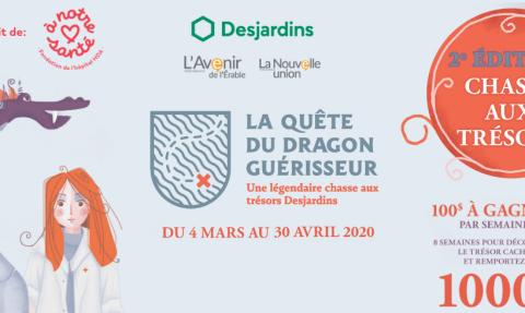Quête du Dragon Guérisseur, une légendaire chasse aux trésors Desjardins