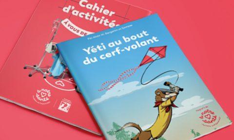 Livre pour enfants – Yéti au bout du cerf-volant